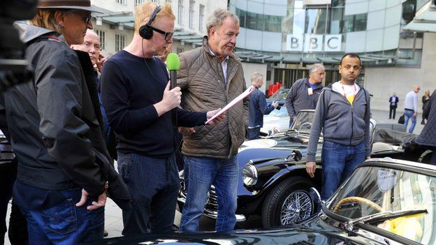 Chris Evans Jeremy Clarkson