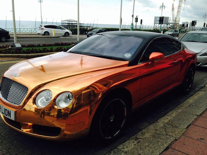 Bentley GT Continental Mr Lion