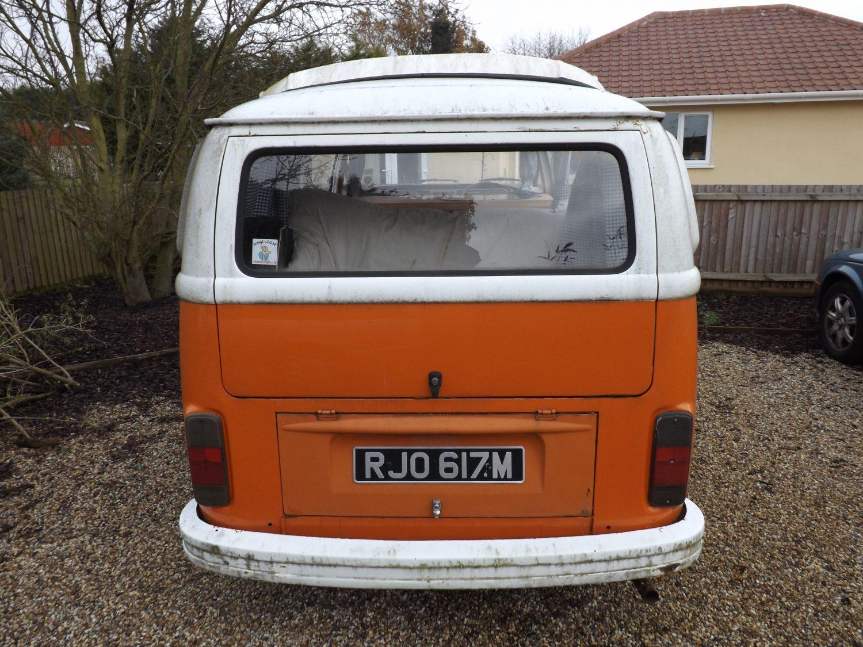 1974 Volkswagen T2 Camper
