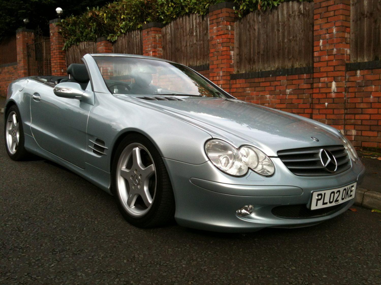 2002 mercedes benz sl500 v8 bridge classic cars for Sl500 mercedes benz