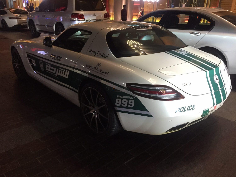 SLS Police Car