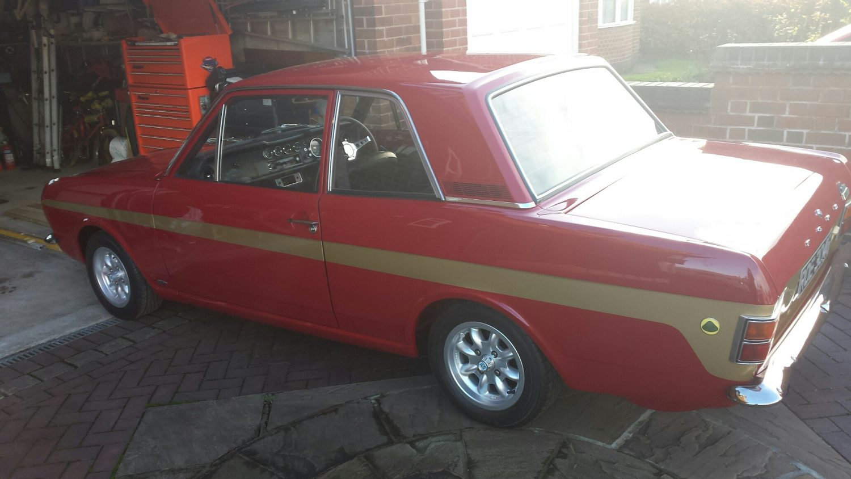 Lotus Cortina Red