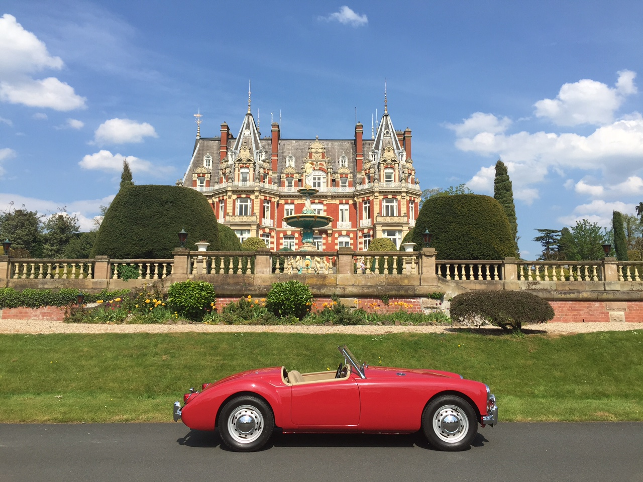 1957 MGA Chateau Impney Droitwich