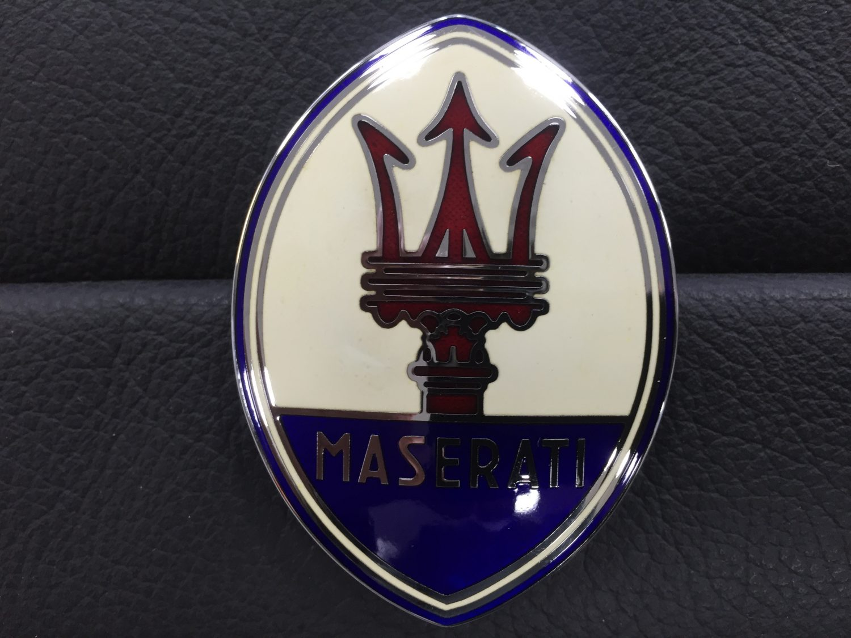 Maserati Merak Badge - 1976