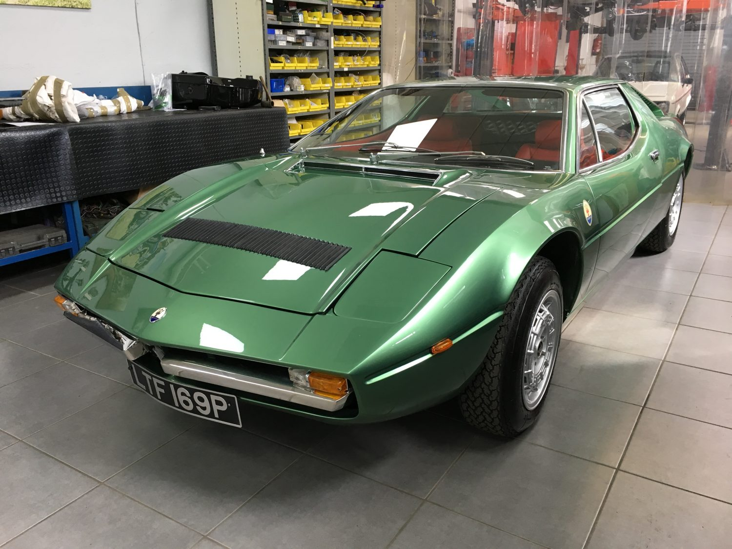 1975 maserati merak project dexy bridge classic cars. Black Bedroom Furniture Sets. Home Design Ideas