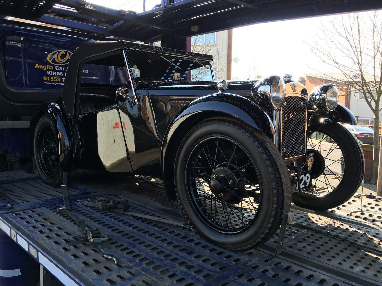 Off to auction... - Bridge Classic Cars