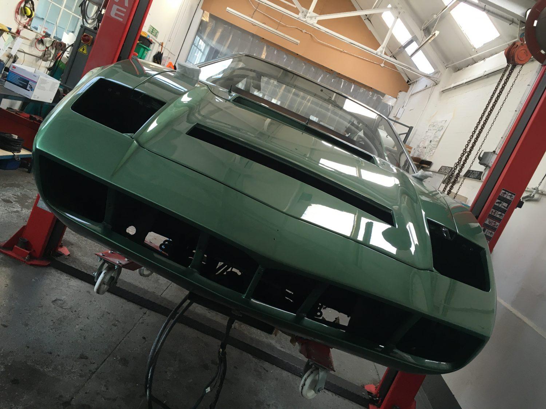 Maserati Merak 1976 Assembly