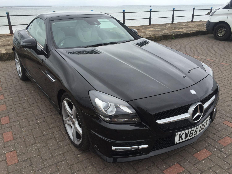 2016 Mercedes SLK Black