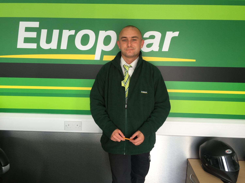 Ted - Europcar Aberdeen Airport