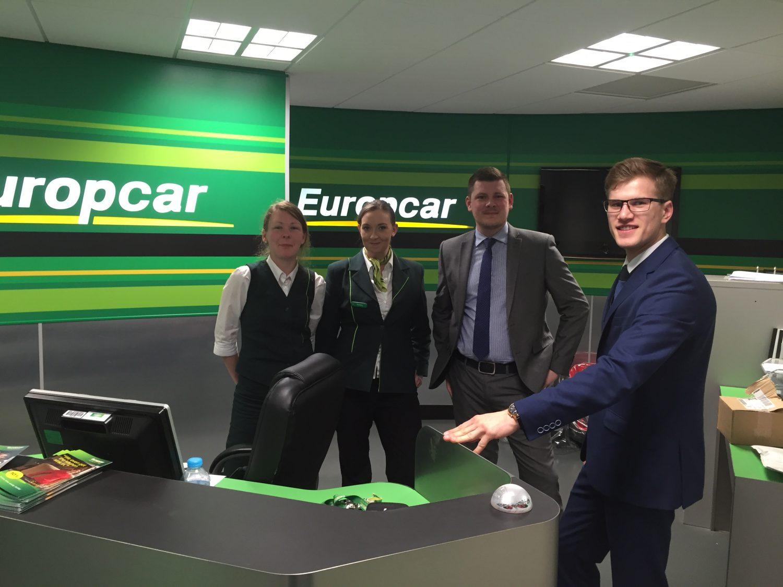 Europcar Team Aberdeen Airport