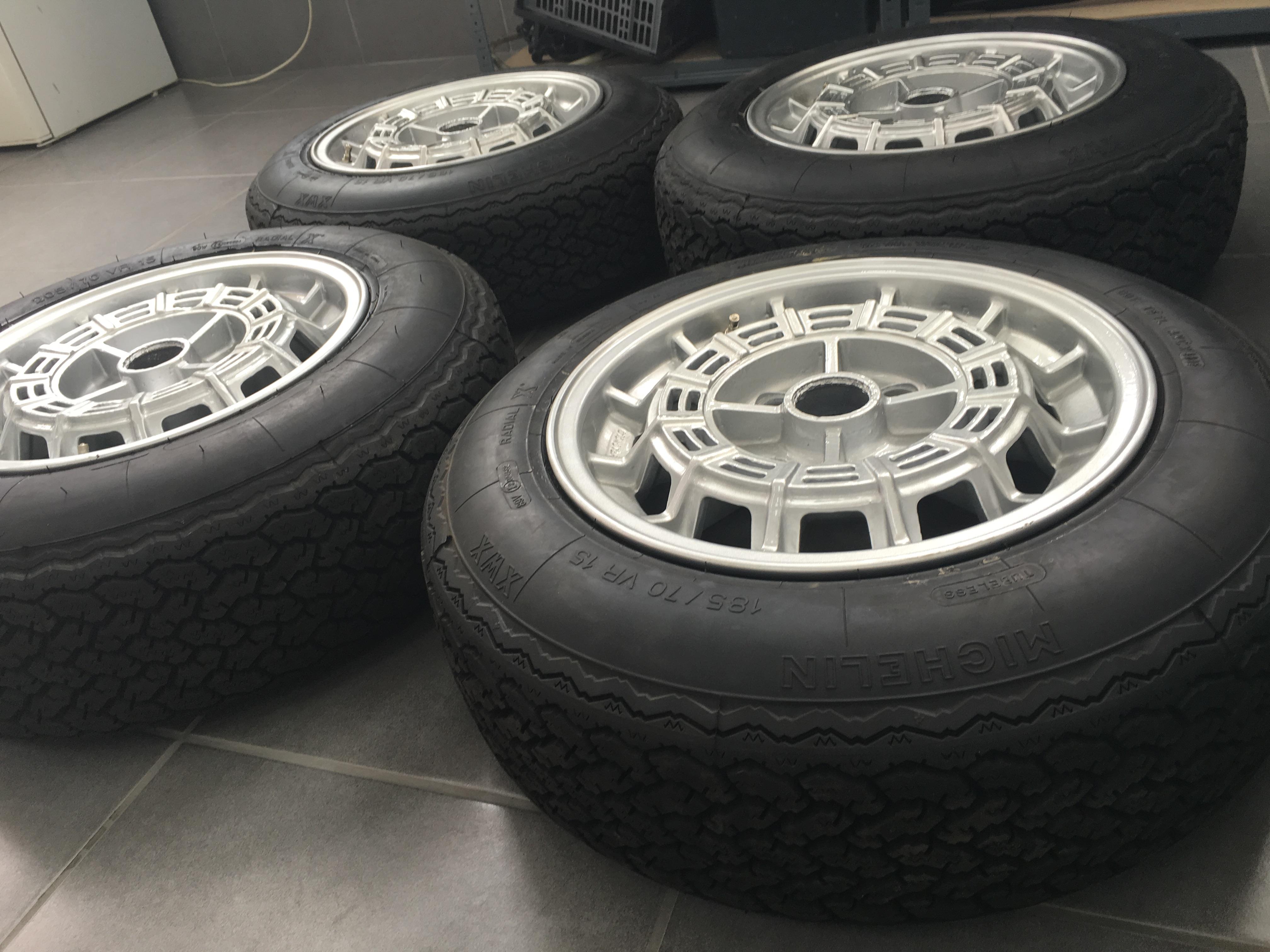 Maserati Merak Wheels and Tyres