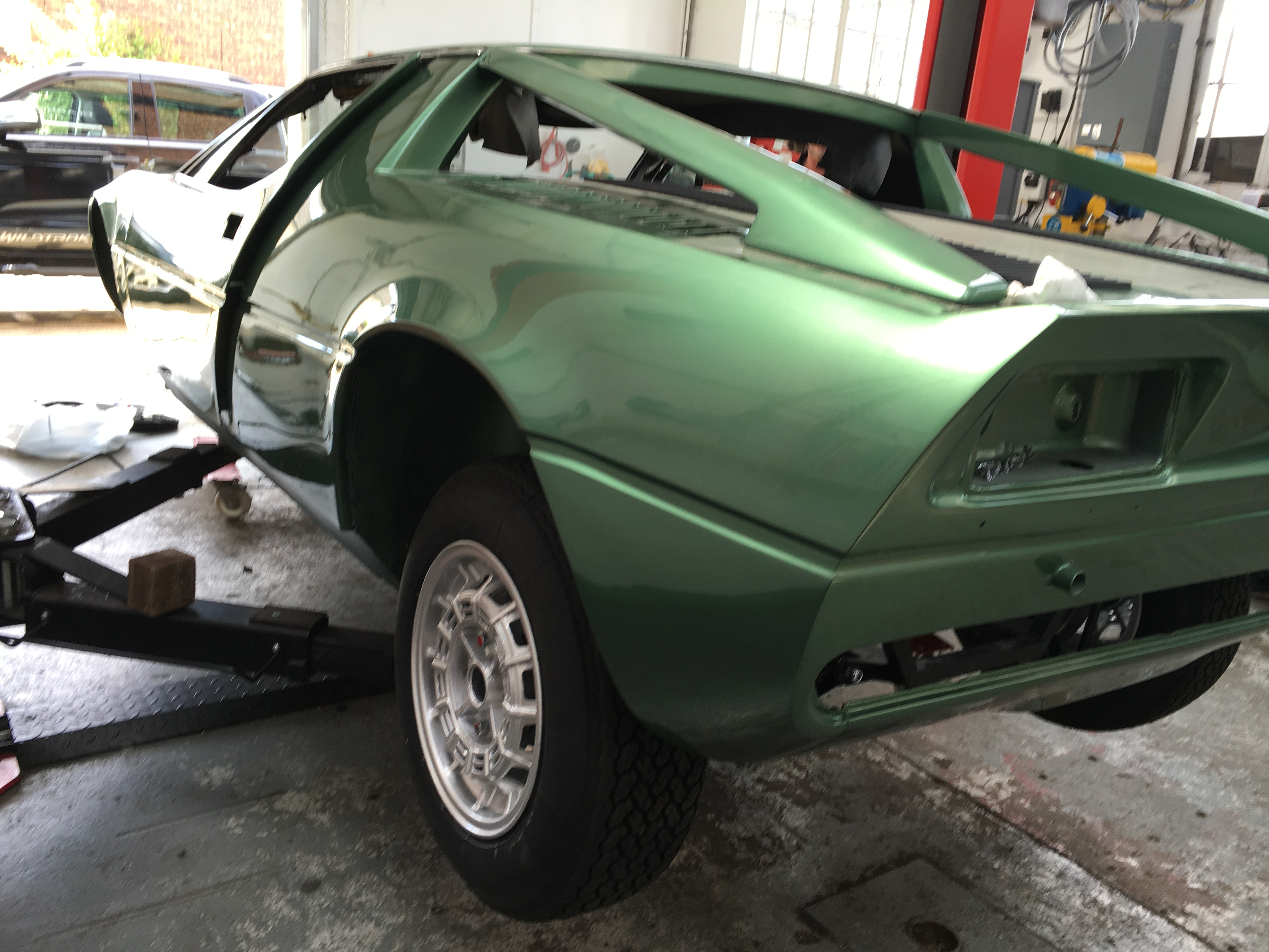 Maserati Merak Wheels Fitted