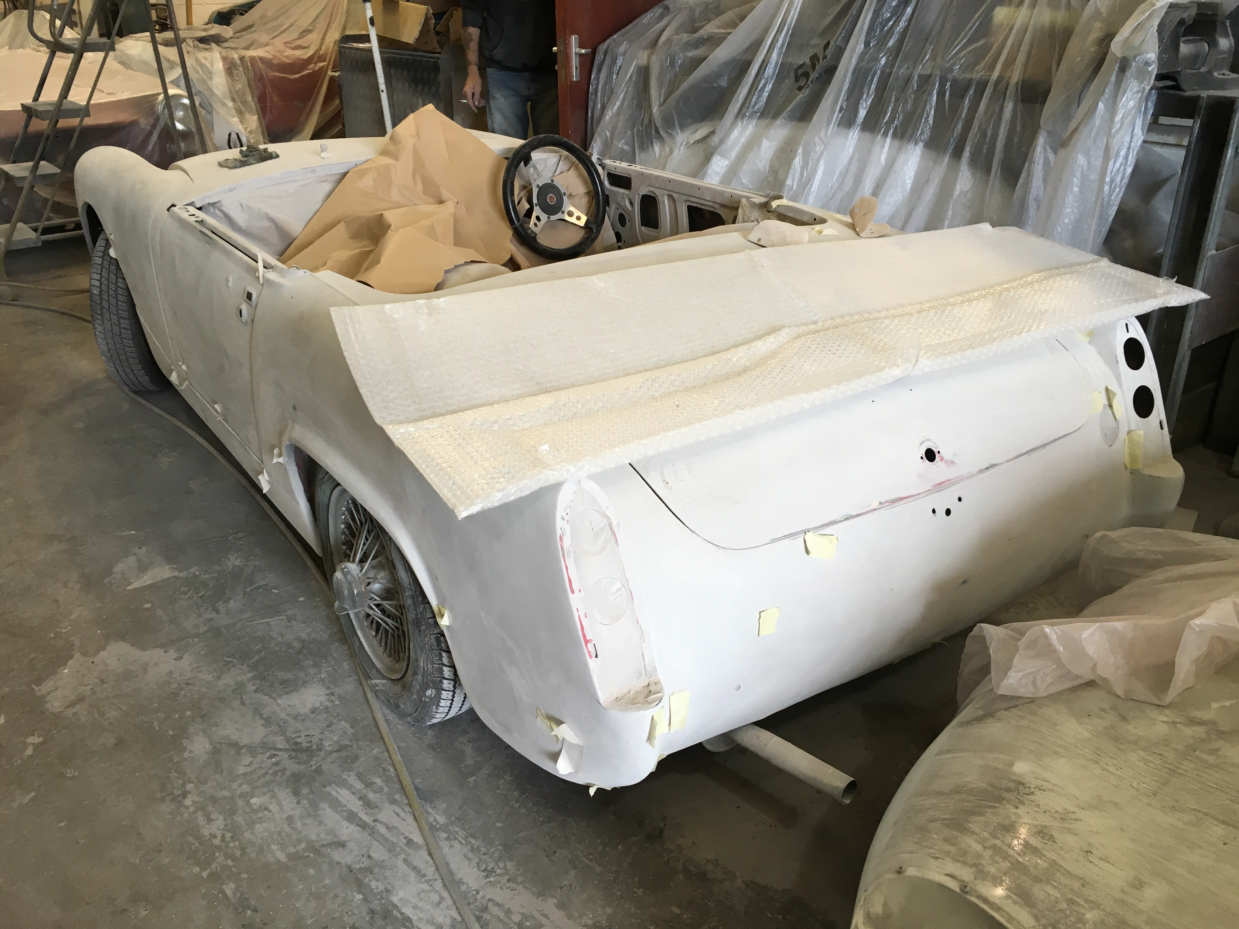 1966 MG Midget Ready For Paint