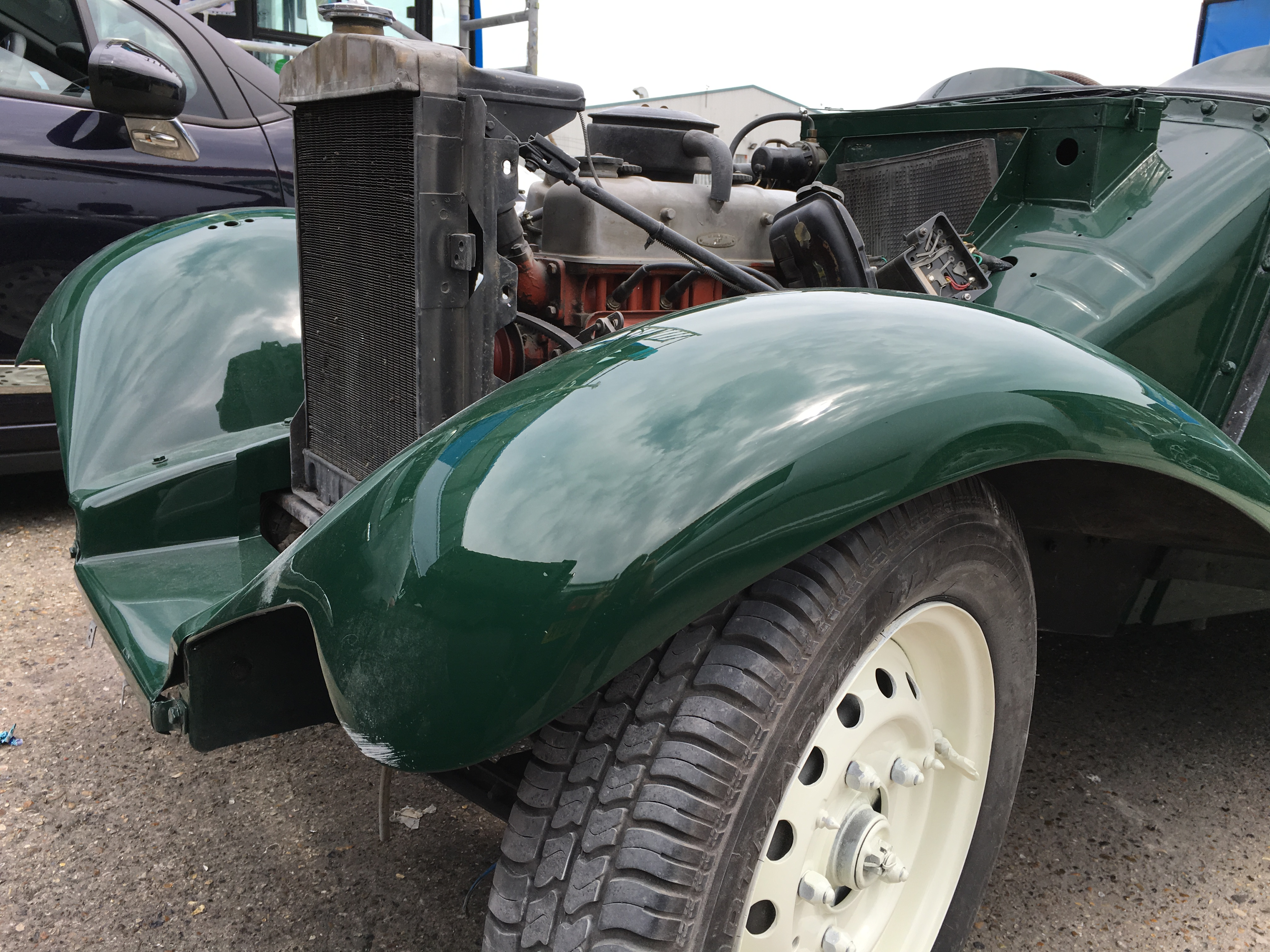 1951 MG TD Competition Respray