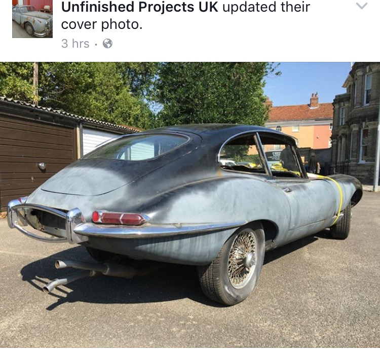 Unfinished Projects UK