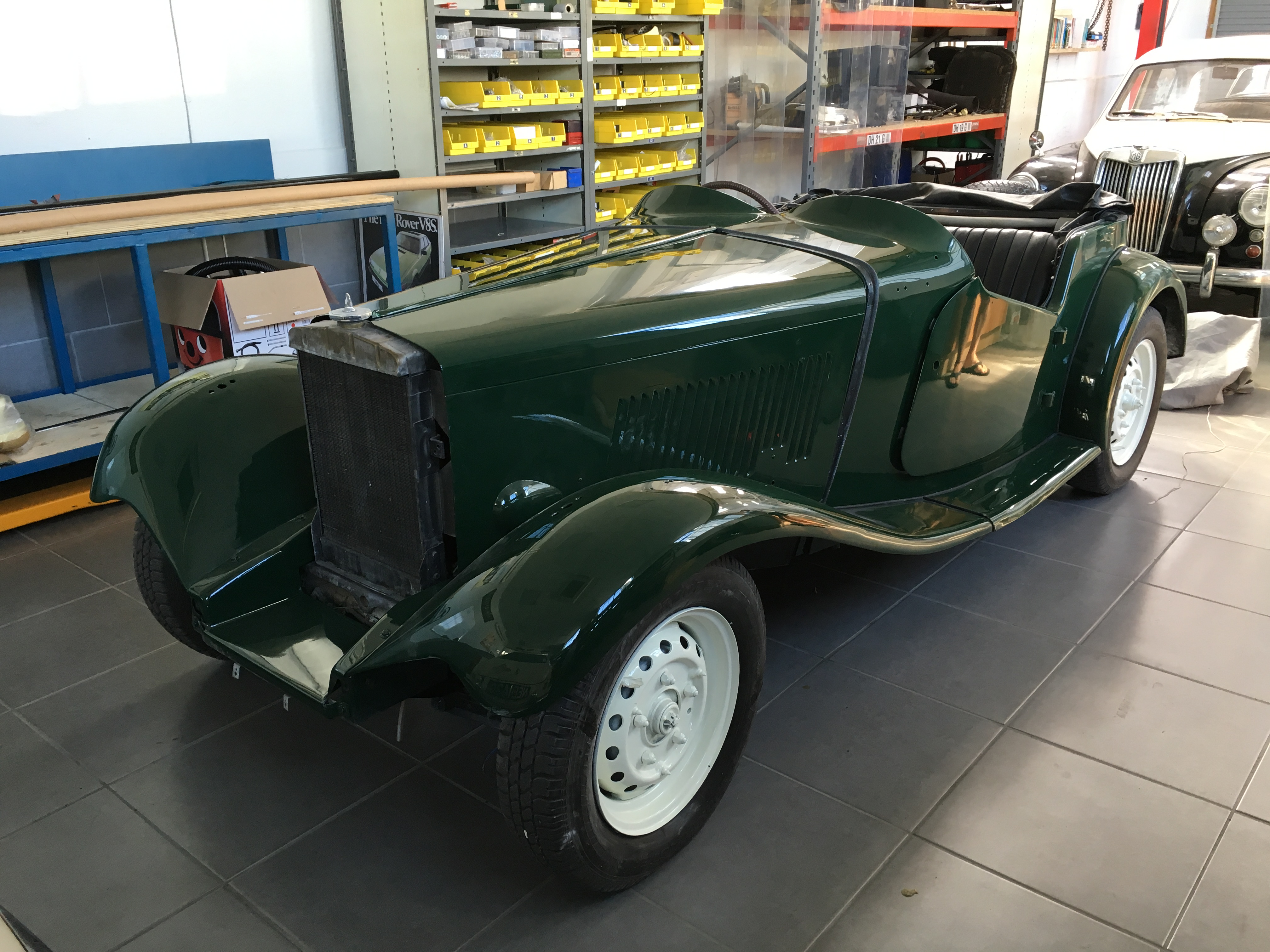 1951 MG TD Competition - Bridge Classic Cars