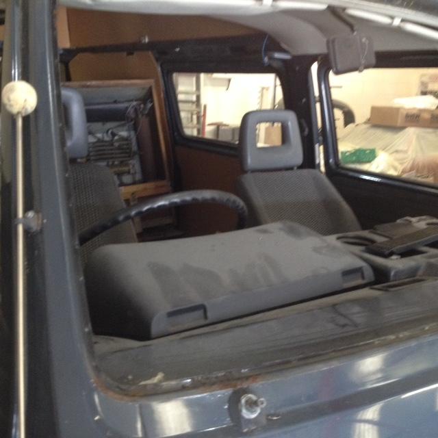 VW Camper T25 Restoration Project at Bridge Classic Cars