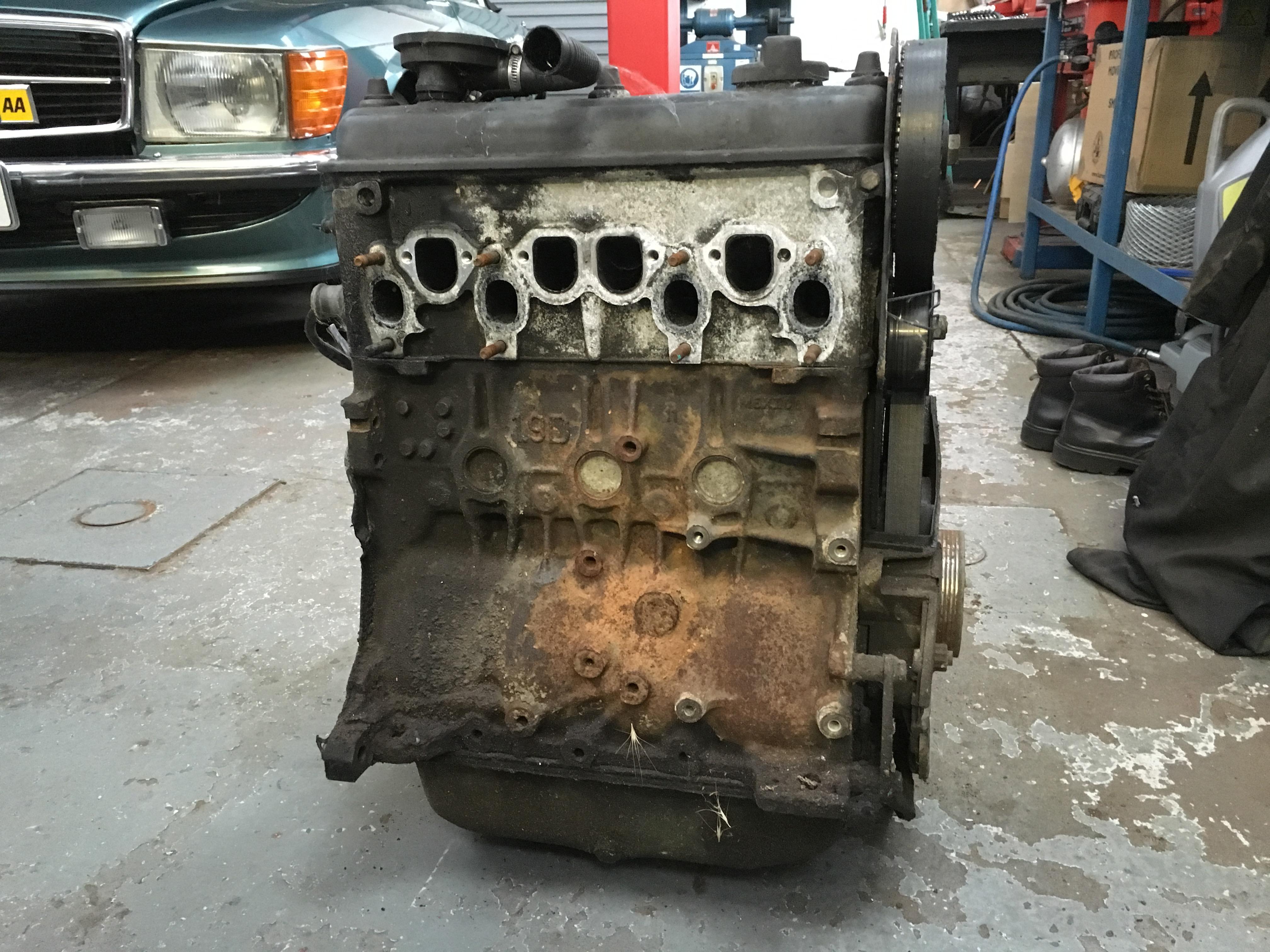 VW Camper T25 Engine