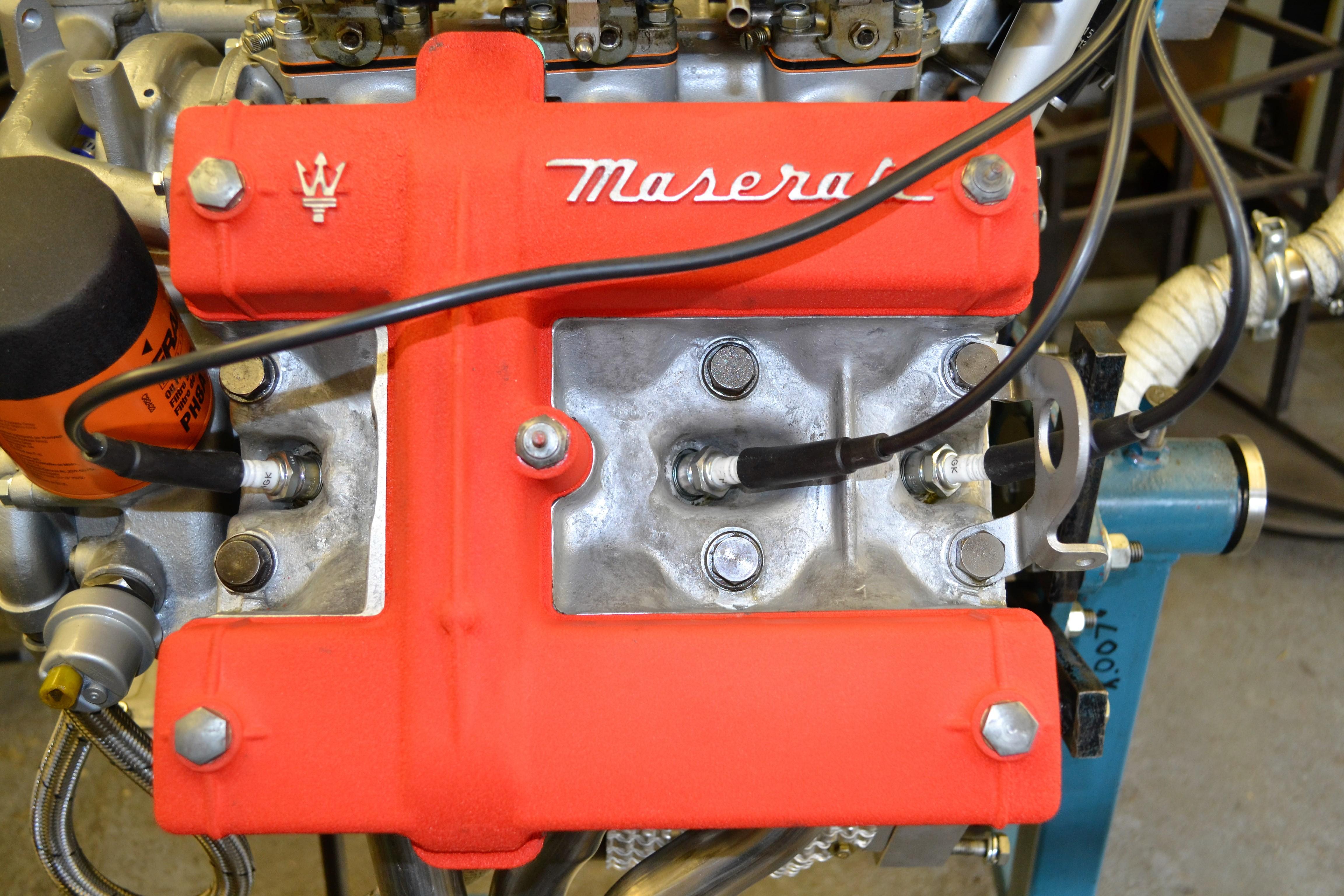 1976 Maserati Merak Engine