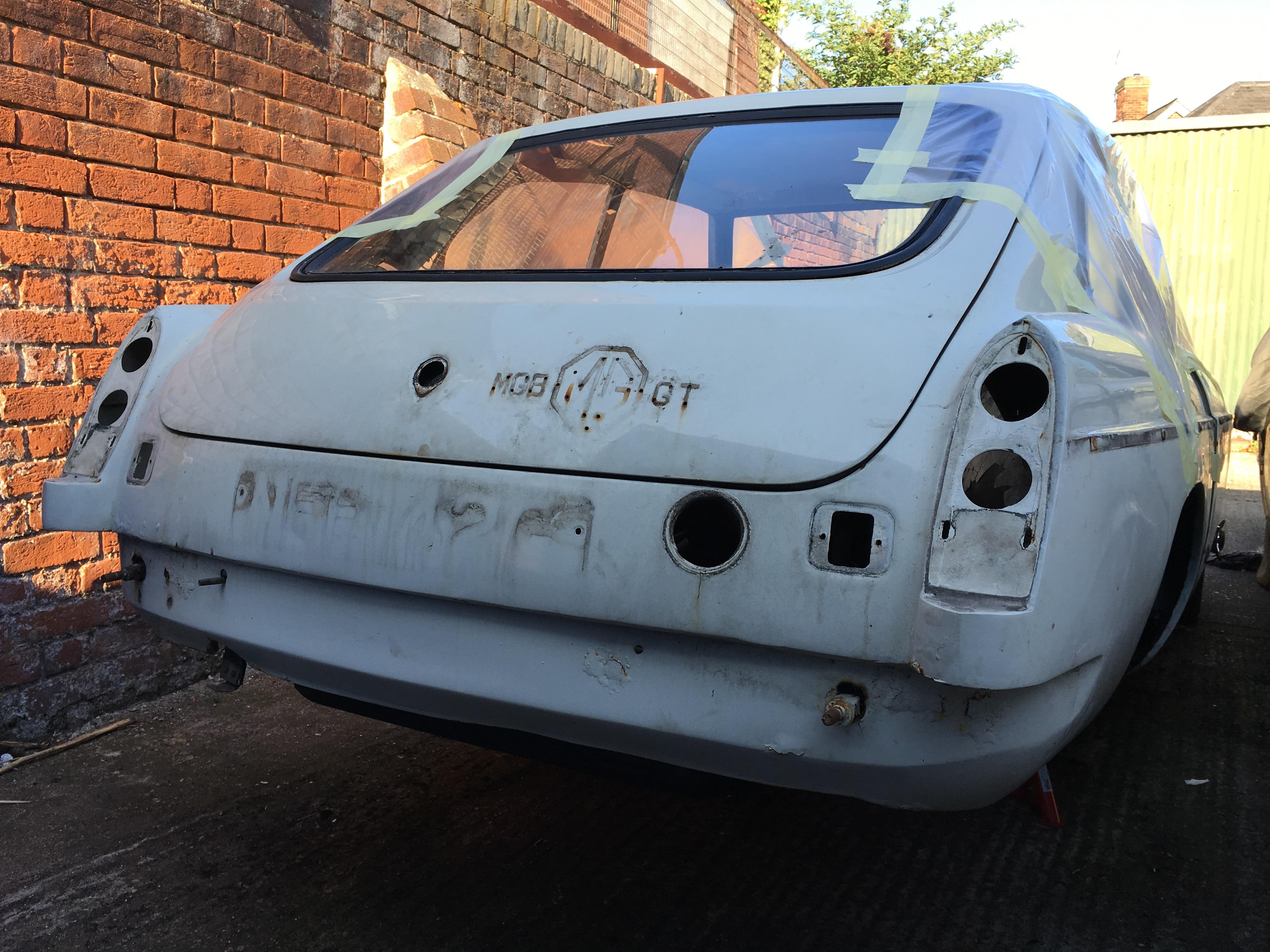 MGBGT Stripped at Bridge Classic Cars