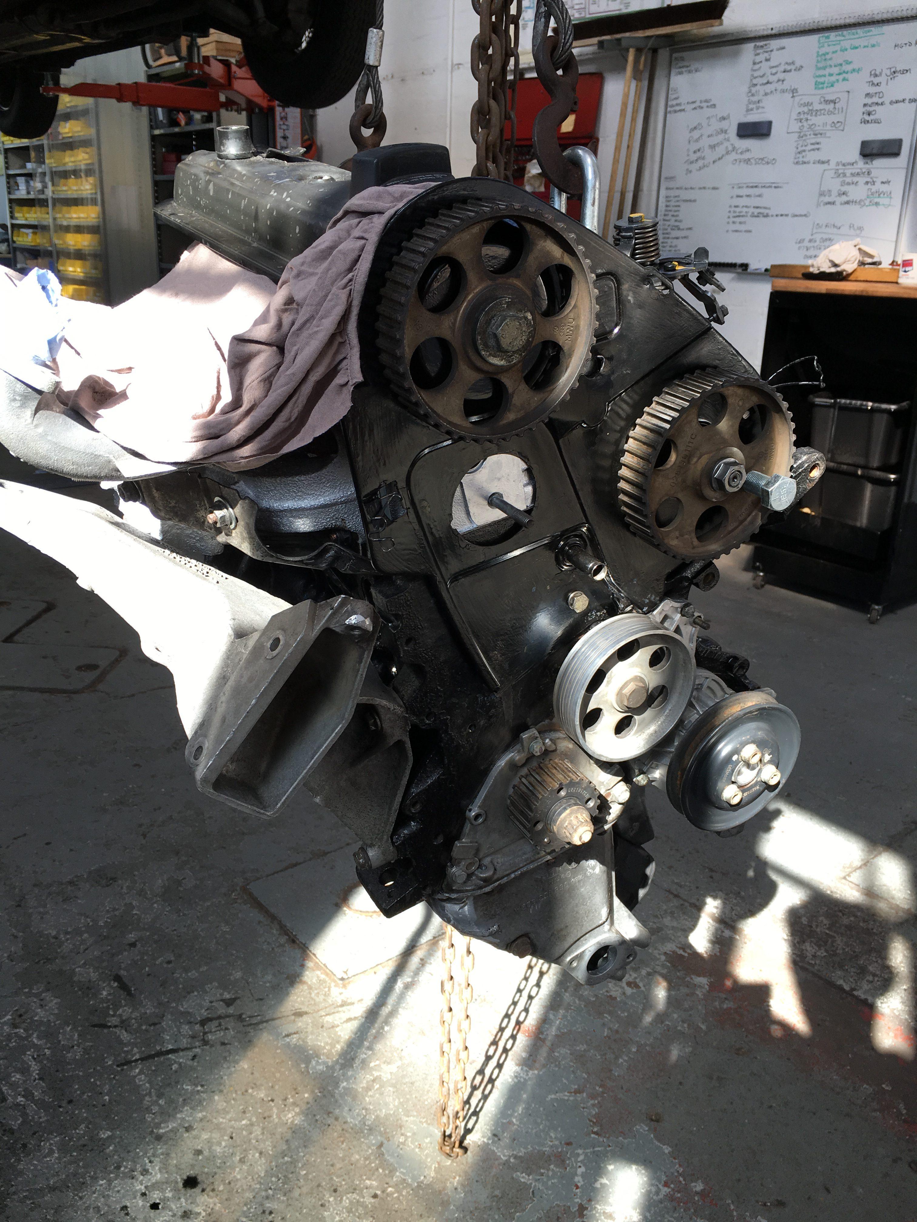VW Camper Engine Rebuild