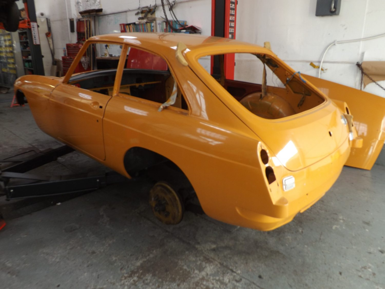 1968 MGBGT New Body Shell