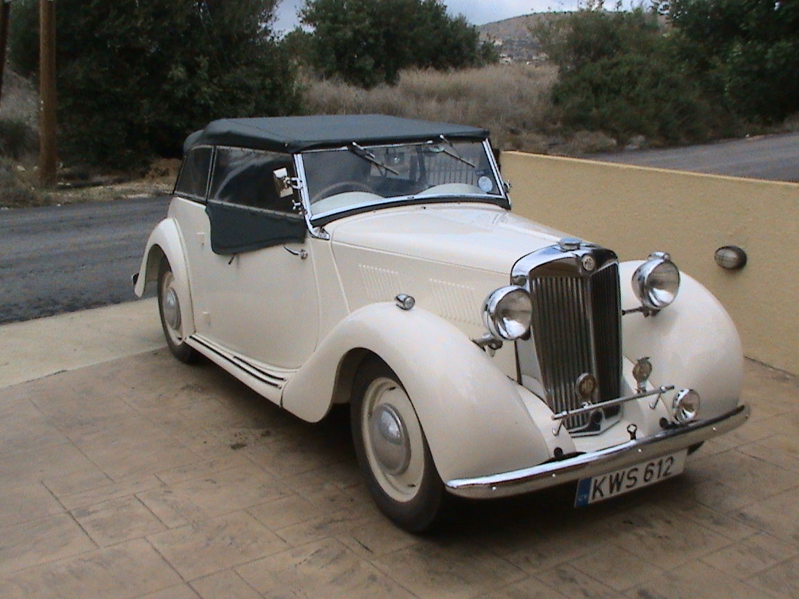 Coming soon to Bridge Classic Cars; a very rare 1949 MG Y Type ...
