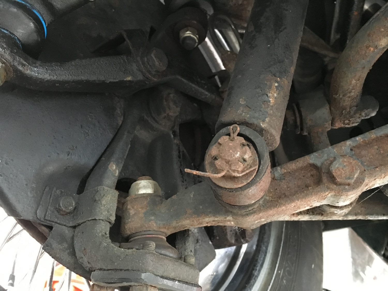 Jaguar Etype Roadster shocks and bushes perished