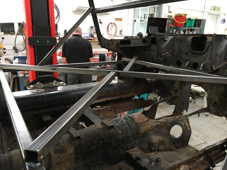 Jaguar E-Type Strengthening Framework