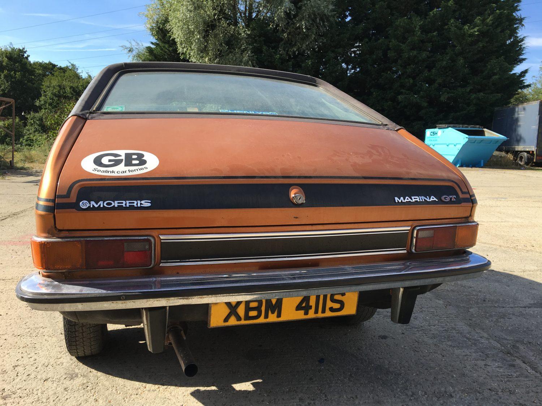 1978 Morris Marina 1 8 Gt Bridge Classic Cars