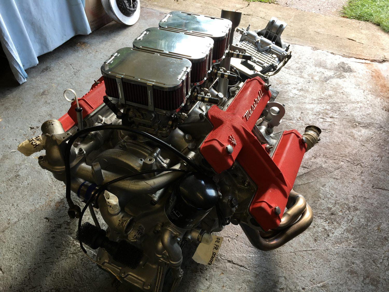 1976 Maserati Merak Engine Restored at Bridge Classic Cars