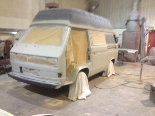 1989 Volkswagen Camper T25 in primer