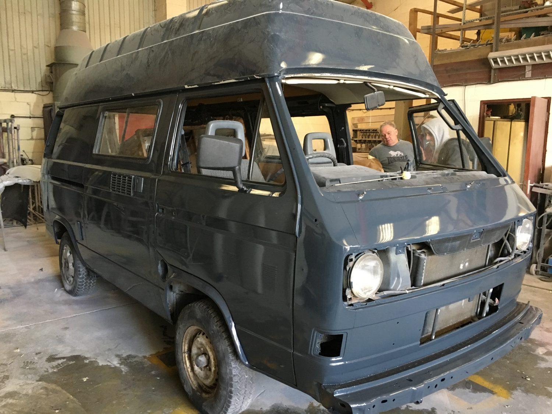 1989 Volkswagen Camper T25 in painted