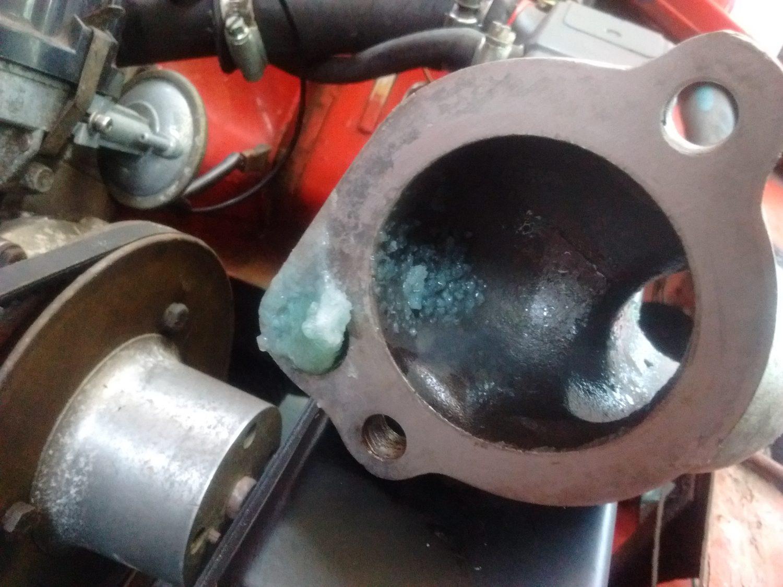 MGB V8 Cooling System
