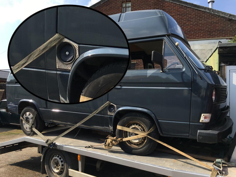 1989 Volkswagen T25 Camper Fuel Filler