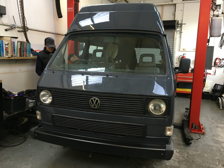 1989 Volkswagen Camper T25 Restoration