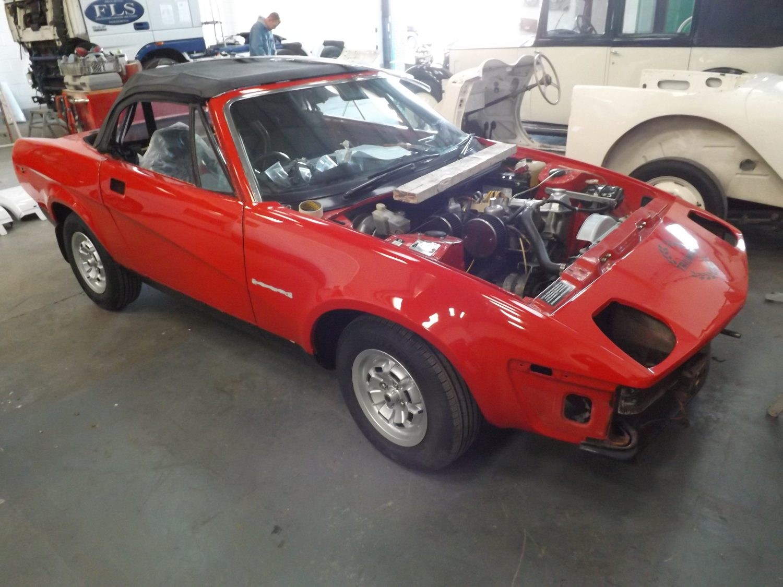 1982 Triumph TR7 Restoration