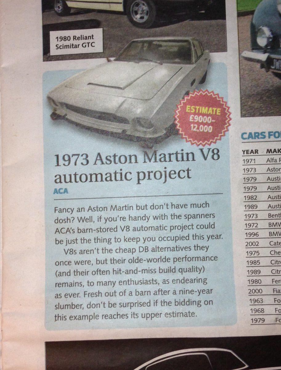 Classic Car Weekly - January 2013 - Bridge Classic Cars