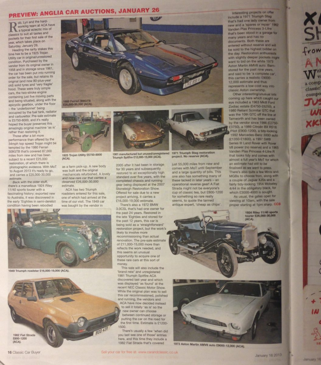 Car and Classic - January 2013