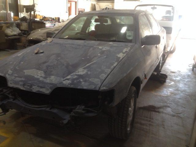 1989 Ford Granada Body Preparation