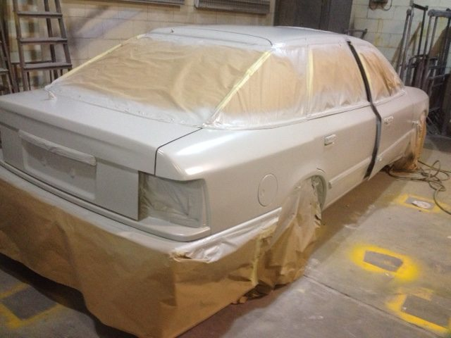 Ford Granada now in primer