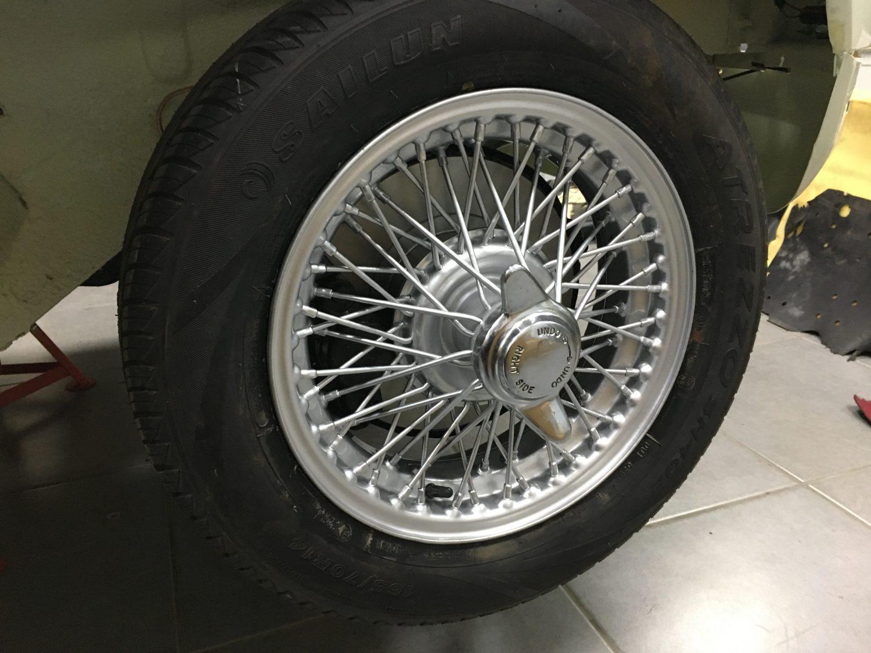 MGBGT Wheels