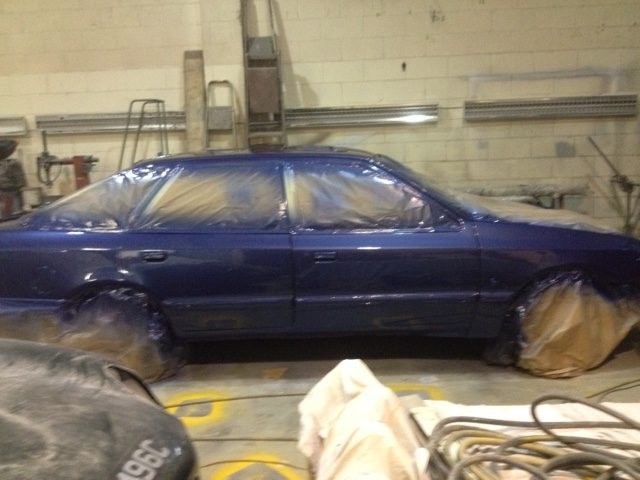 Ford Granada now in paint