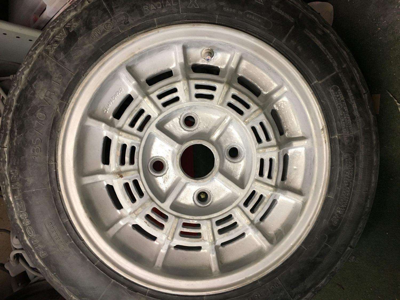 Maserati Merak Magnesium Wheel