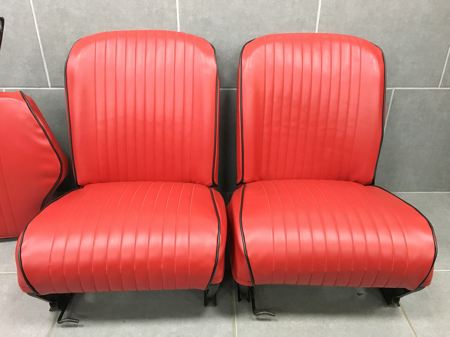 Fiat 500L Seats Re Covered