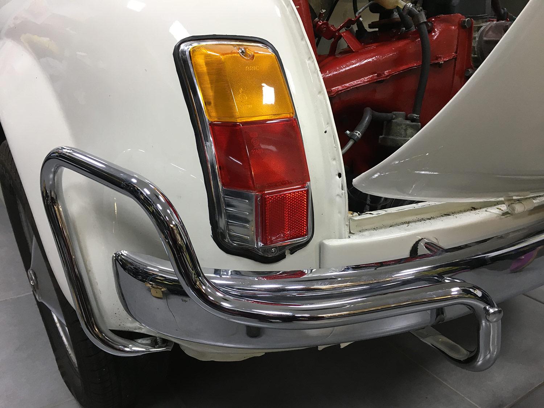 Fiat 500L Bumper Bars