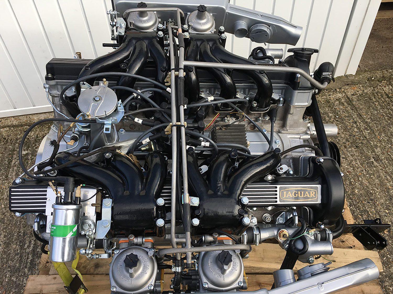 Jaguar E-Type V12 Engine and Gearbox arrives at Bridge Classic Cars - Bridge Classic Cars