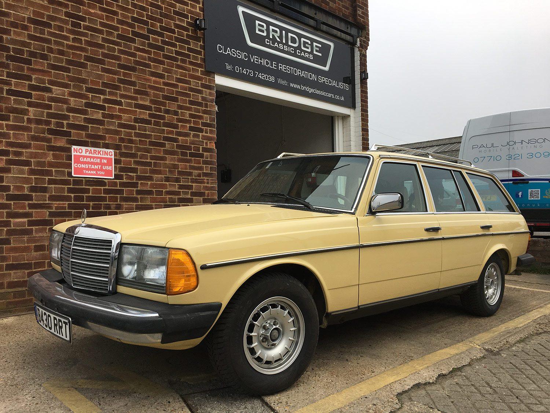 Mercedes W123 300TD Restoration - Bridge Classic Cars