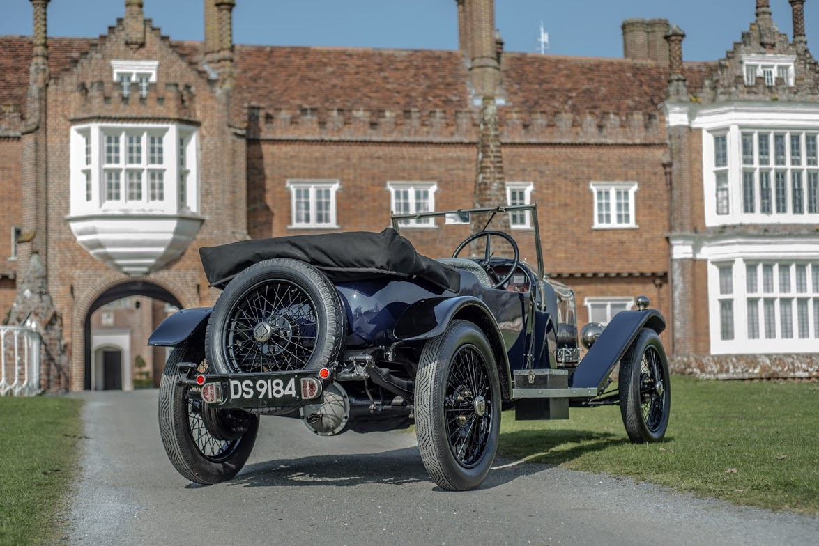 1924 Riley 11/40 Sports Tourer DS9184 at Helmingham Hall