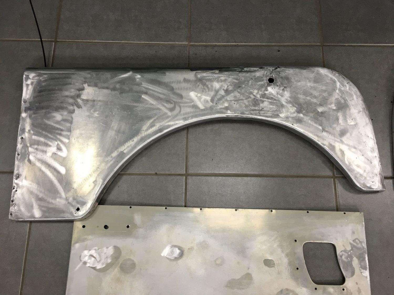 Land Speed Record >> Land Rover Series 1 body panel repairs - Bridge Classic ...